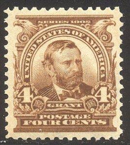 U.S. #303 Mint VF/XF NH - 1902 4c Grant