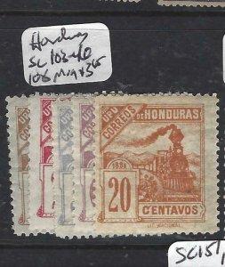 HONDURAS (P2606B) TRAIN SC 103-6, 108  MOG