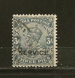 India O78 King George V Service Official Used