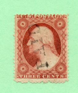 Sc# 26A Used/ PAID Cancel / Type IV  -  Lot 0617110