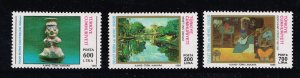 TURKEY Stamp  1989 State Exhibition of Paintings and Sculpture MH STAMPS SET