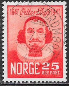 Norway 290 Used - Petter Dass (1647-1707) Poet