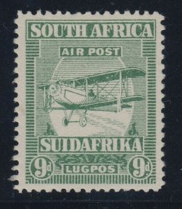 South Africa, SG 29 var (SACC 28c), MHR, Extended Strut variety