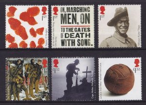 Great Britain  MNH  2018  First World War centenary.  last issue