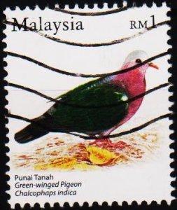 Malaysia. Date? $1 Fine Used
