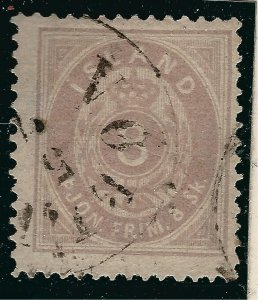 Iceland Iconic Sc Official O2 Used F-VF SCV $750...an iconic bargain!!