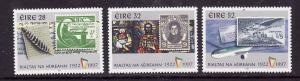 Ireland-Sc#1082-4-unused NH set-Irish State-Planes-Stamp on Stamp-Aer Lingus-Sta