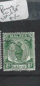 MALAYA PERAK   (P0704BB)   SULAN 8C  SG 135  VFU