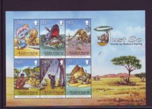 Alderney Sc 312a 2007 Just So Kipling stamp sheet mint NH