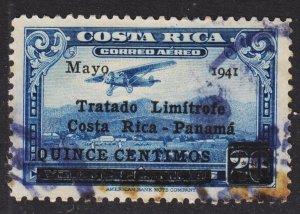 Costa Rica Scott C68 F+ used.