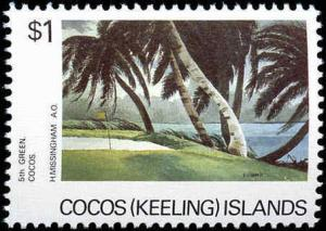 Cocos Islands #159-161, Complete Set(3), Never Hinged