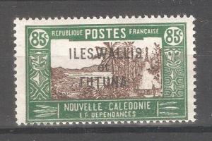 Wallis & Futuna 1938,Overprinted,85c,Sc 64,VF Mint Hinged*OG (K-8)