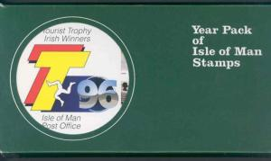 ISLE OF MAN 1996 YEAR PACK COMPLETE MINT NH STAMPS AS SHOWN I