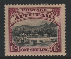 Aitutaki Sc#33 MH