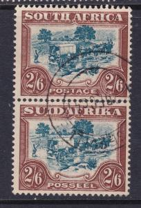 South Africa a pair of early 2/6 used possibly from the 1930 series