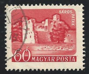 Hungary #1285 60f Saros - Patak