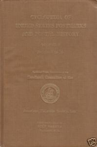 Cyclopedia of US Postmarks Vol 1, by Delf Norona, gently used.