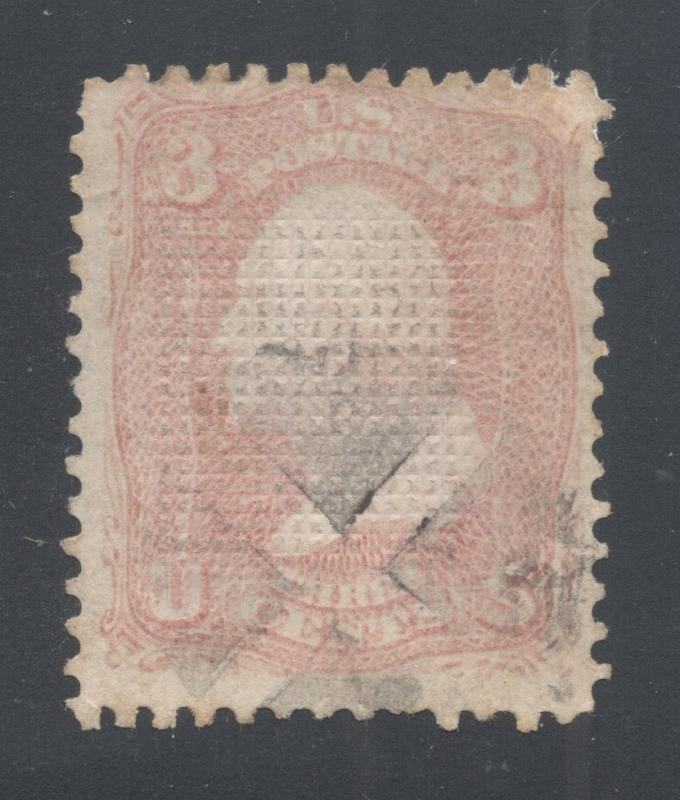 US#83 Rose - C Grill-Point Up - Negative Cross Cancel