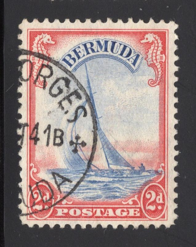 Bermuda #109A Red & Ultra - Used