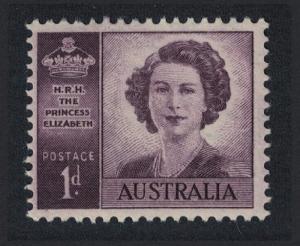 Australia Wedding of Princess Elizabeth Watermark SG#222