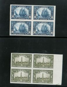 Canada #149P - #159P Extra Fine Proof Block Set On India Paper