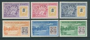 Haiti 500-2, C203-5  MNH cgs