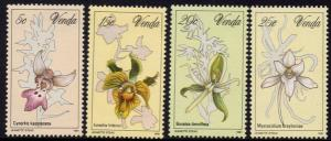 Venda - 1981 Orchids Set MNH** SG 46-49