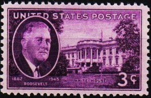 U.S.A. 1945 3c S.G.928 Unmounted Mint