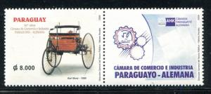 Paraguay 2800, MNH, Paraguay-Germany Chamber of Commerce, 2006. x31112