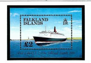 Falkland Is 572 MNH 1993 Visit of Ocean Liner QEII