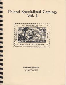 Poland Specialized Catalog Vol. 1, by Ruch, Postilion Reprint, New