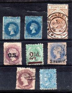 South Australia QV collection (8V) WS16272