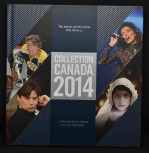 CANADA 2014 Stamp Yearbook USA delivery only.