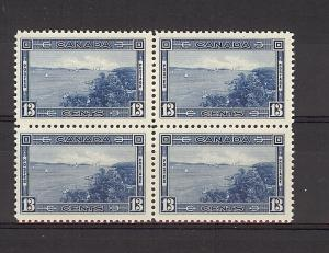 Canada, 242, Halifax Harbour Block (4), MNH