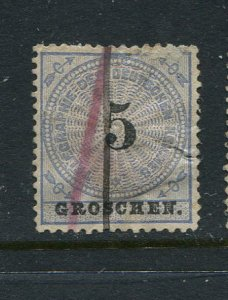 Germany Telegraph Hiscock #5 Used 5g