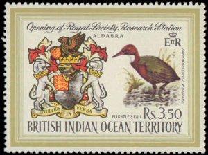 1971 British Indian Ocean Territory #43, Complete Set, Hinged