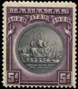 Bahamas SC# 87 SG# 128 Colony Seal 5d MNH