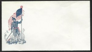 3 DIFF. MALE W/ FLAG PATRIOTIC COVERS BV3447