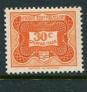 French Equatorial Africa #J13 Mint - penny auction