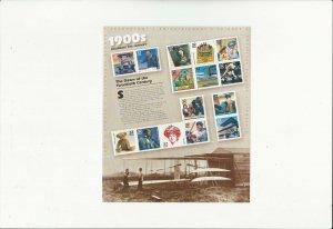 US Stamps/Postage/Sheets Sc #3182 Celebrate Century 1900's MNH F-VF OG FV$4.80