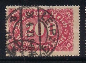 Germany Sc. # 157 Used Inflation Wmk. 125 - L57
