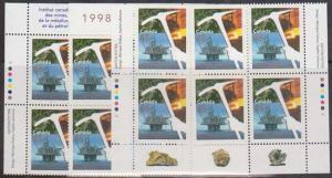 Canada #1721 Mint MS Imprint Blocks VF-NH Face Alone $7.20 - Mining&Petroleum