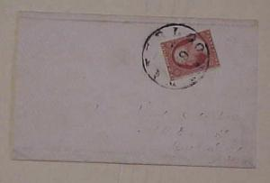 US COVER #10 cat.$200.00  WATERLOO NY TO NY