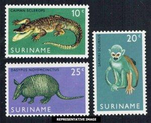 Surinam  362-364 Mint never hinged.