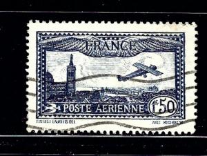 France C6 Used 1931 issue