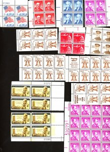 U.S. #MINT collection of stamps, Mixed condition