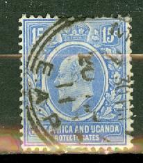 East Africa & Uganda 36 used CV $11