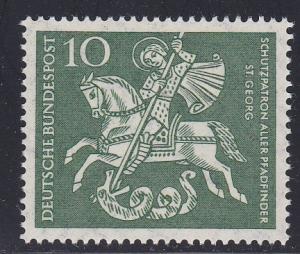 Germany # 823, St. George, Mint NH