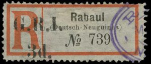 New Britain Scott 43b Gibbons 33d Used Stamp