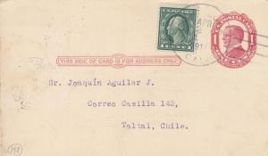 1914, California to Taltal, Chile (21604)